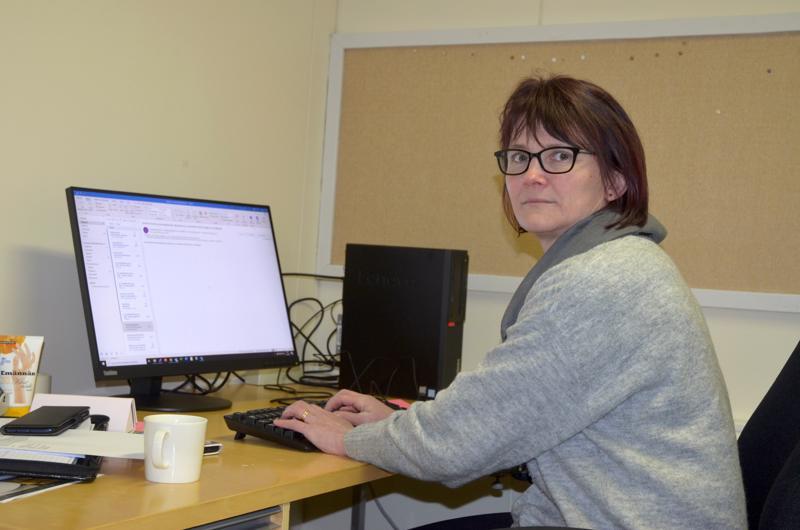 Tästä se lähtee. Susanna Tuikka aloitti Lestijärven hallintojohtajana tämän kuun alussa.
