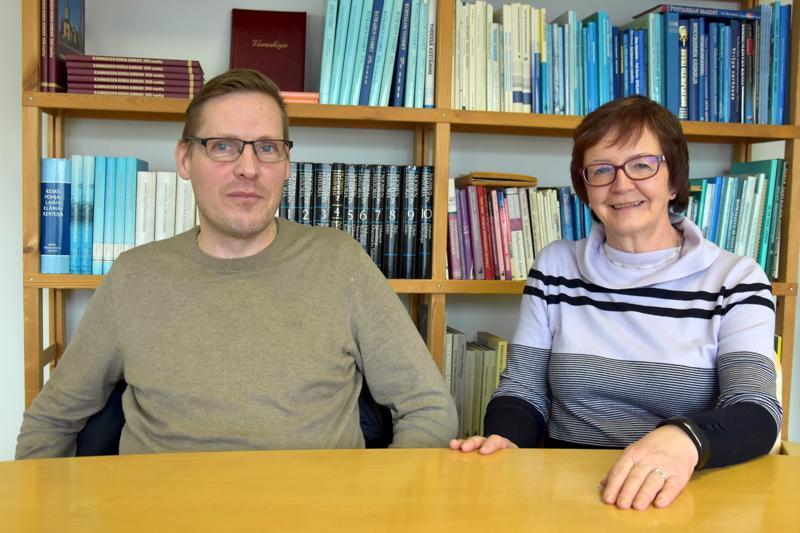 Tietoa päätösten tueksi. Pauli Haaponiemi ja Anja Törmä ovat Soiten luottamuselimissä.