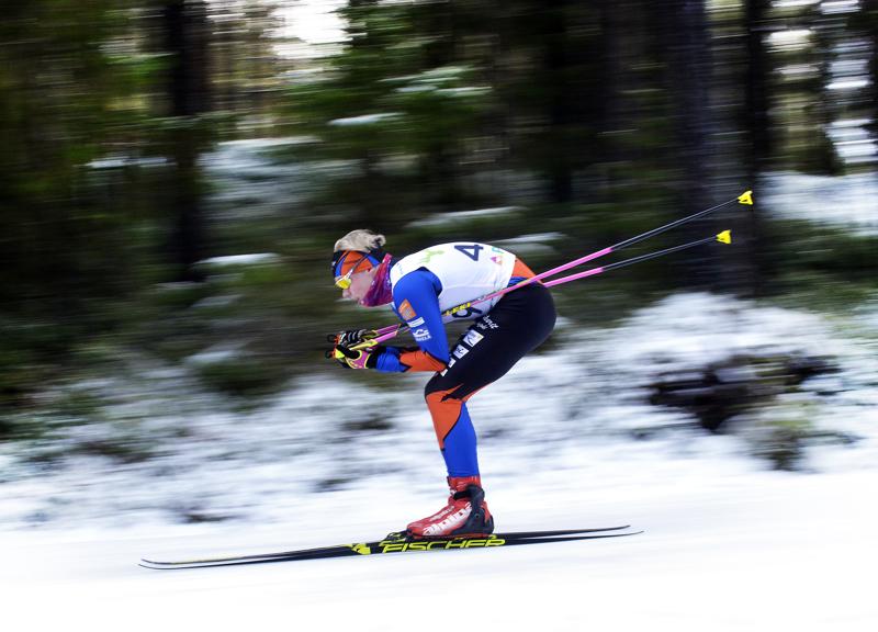 Kalajokinen Oscar Rahja päätyi neljänneksi 14-vuotiaiden poikien sarjassa. Mitalista hän jäi 2,2 sekuntia.
