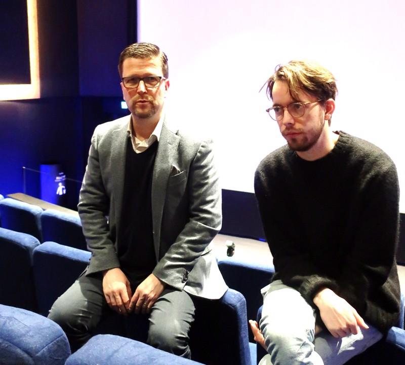 Ohjaaja Klaus Härö toi Pietarsaareen uuden elokuvansa nuoren tähden, Martin Paulin.