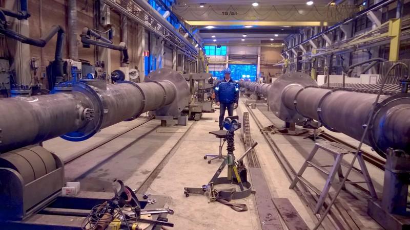 Yt-neuvottelut koskevat Ylivieskan tehtaan putkituotantoa.