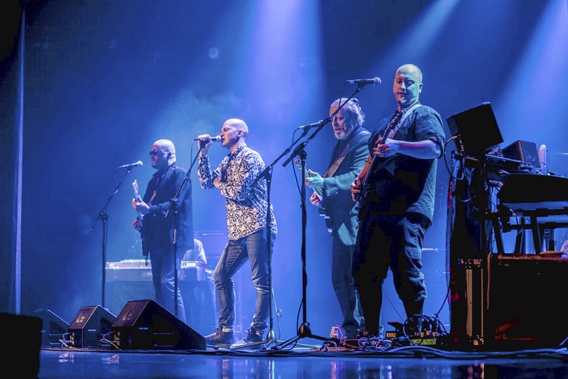 Juice Originals -bändissä esiintyvät Jari Yliaho (vas.), Riku Nieminen, Ila Loueranta ja Eemil Tikanmäki. Bändi tekee toisen konserttikiertueen yleisön pyynnöstä.