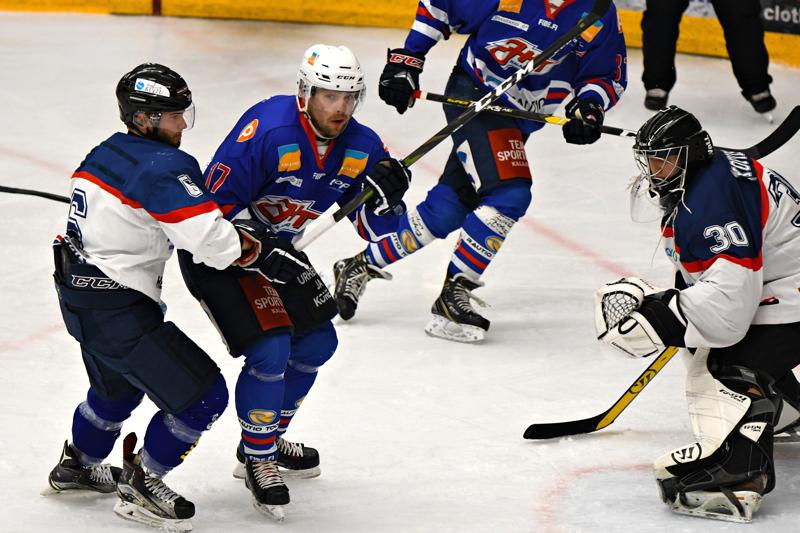 Kaksi maalia iskenyt Jani Nurkkala oli JHT:n tehokkain pelaaja Jyväskylässä.