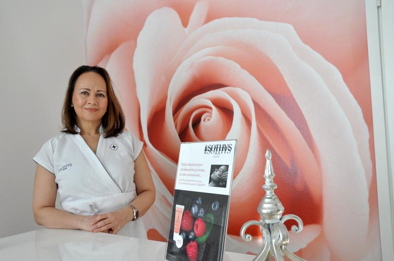 Anna-Leena Ojalan yrityksen nimi Fiore on italiaa ja tarkoittaa kukkaa. – Rakastan Italiaa ja halusin palan sitä hoitolaani. Fiore on helppo lausua ja muistaa.