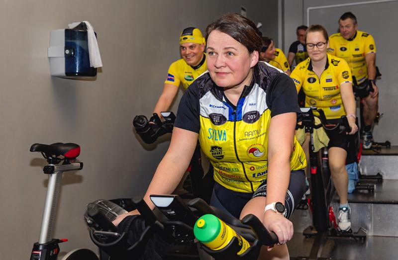 Tytti Laitila on tänä vuonna mukana Team Rynkebyn huoltojoukossa.