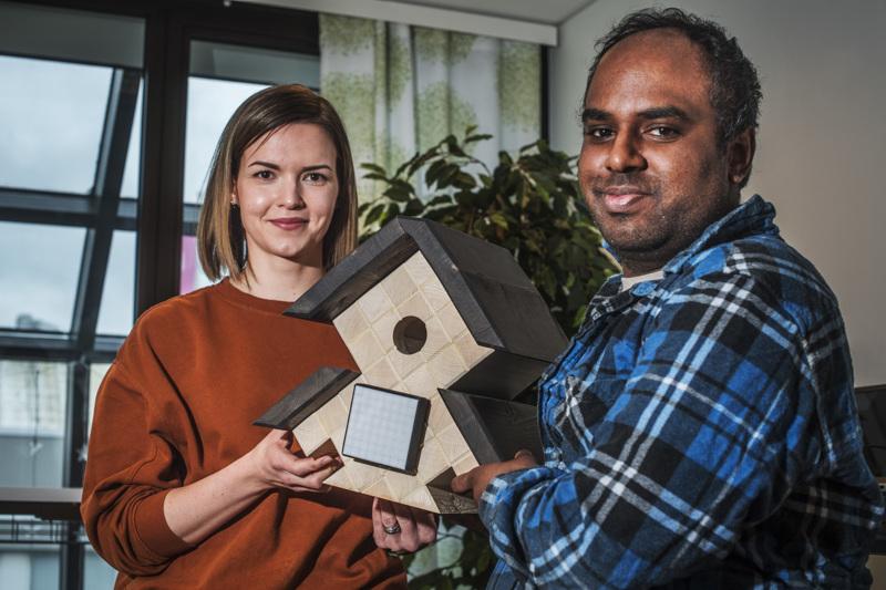 Satu Vihtari ja Rohit Björkqvist osallistuivat viime vuonna ohjelmistotalo Livionin De Vaja -akatemiaan, jossa oli mahdollista perehtyä ohjelmistoalan saloihin ja koodarin työhön.
