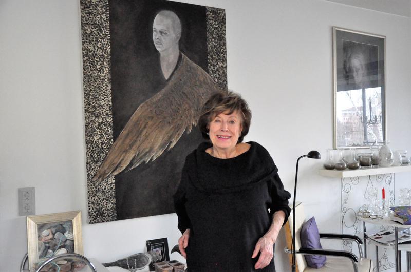 Pirkko Stenman on kiitollinen, että hänen galleriansa aikana Kokkolassa Pohjoismainen taidekoulu oli voimissaan. Myös lasten ja nuorten kuvataidekoululaiset olivat hänelle mieluisia vieraita.