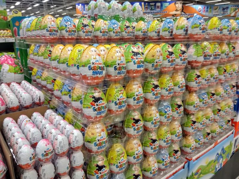 Kaupat ovat täyttyneet ihanista pääsiäisajan makeisista. Pikkutrullien trullireissut jäävät kyllä tänä vuonna kiertämättä.
