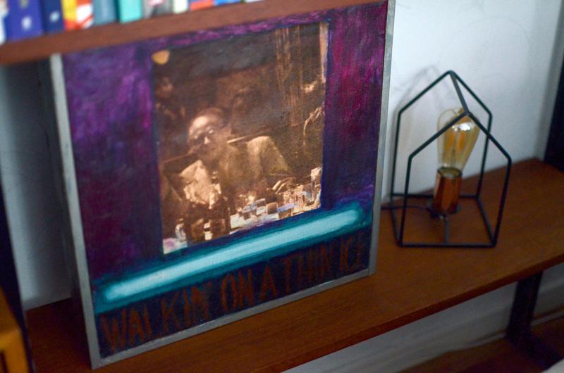 Pertti Lohinivan taulu oli Kokkolan keskustassa aikoinaan sijainneen City-Cafén seinällä.