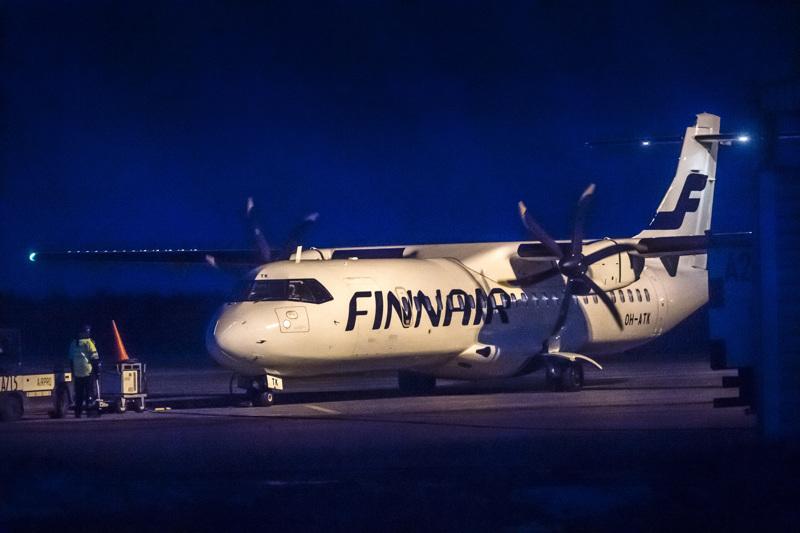 Kokkola-Pietarsaaren lentoasema hiljeni keskiviikkoiltana.