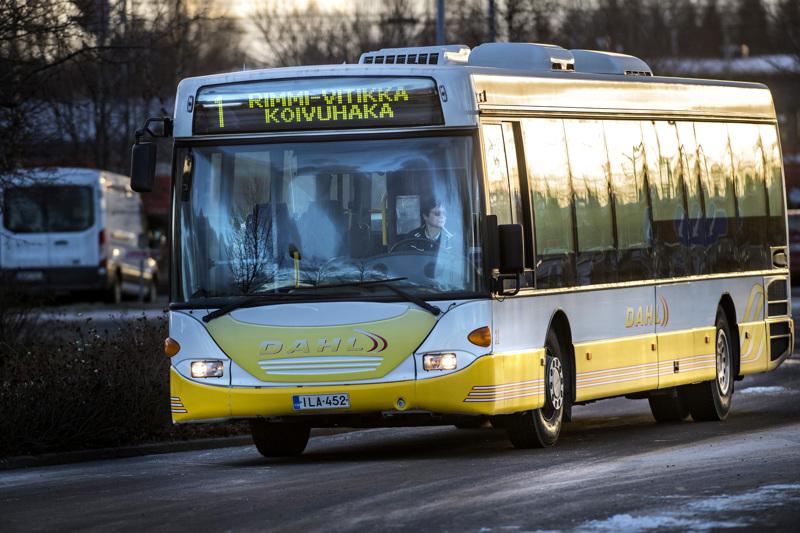 Kokkolan joukkoliikenteeseen tulee muutoksia lauantaista eteenpäin.