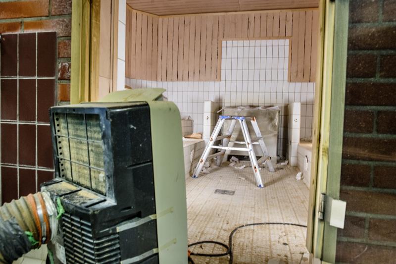 Nyt ei kylvetä. VesiVeijarin saunat käyvät läpi huomattavan remontin.