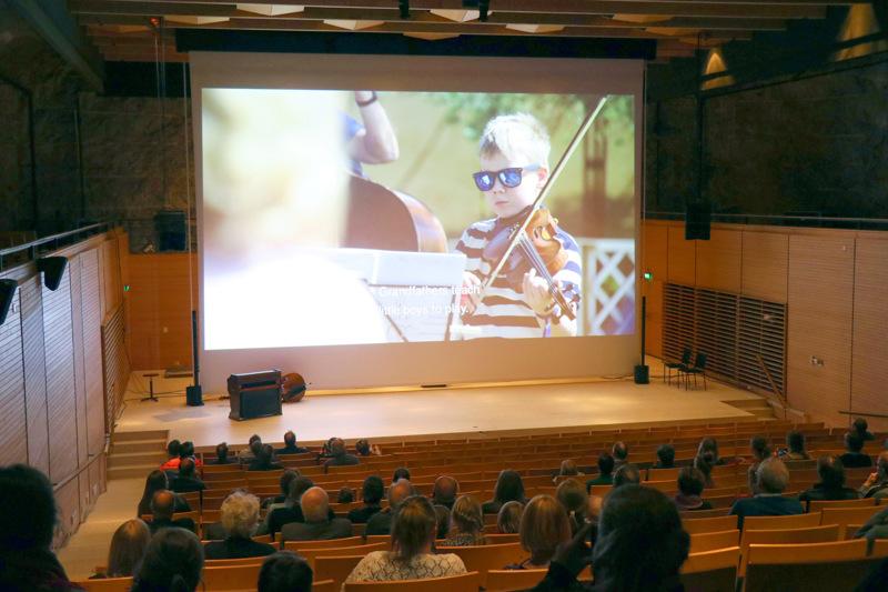 Unesco-hakemuksen video sai ensi-iltansa Kaustisella maaliskuun alussa.