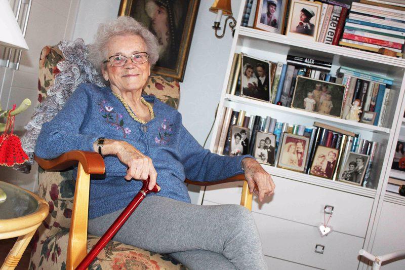 90-vuotissynttärit koronan takia siirtänyt Aino Ojala olisi valmis vielä yhteen rakkauteen.