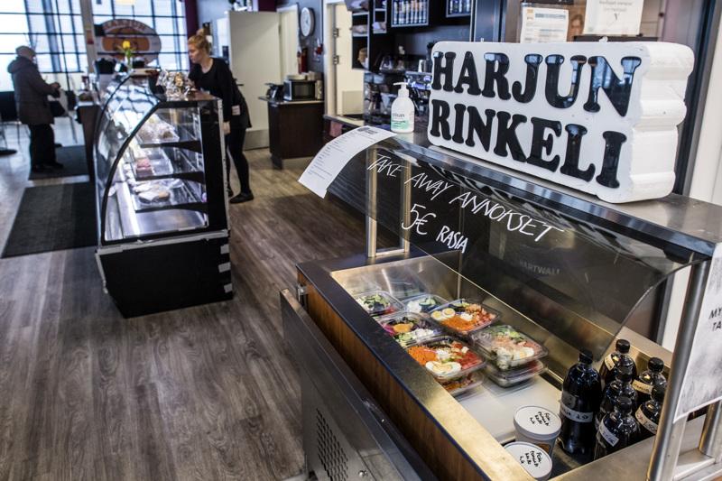 KPO:n Prisman kiinteistössä Kokkolassa toimiva Harjun Rinkeli on samassa veneessä kaikkien muiden maan kahviloiden ja ravintoloiden kanssa.