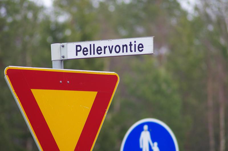 Mitään muuta Pellervoa ei Nivalasta nyt löydetty kuin tie.