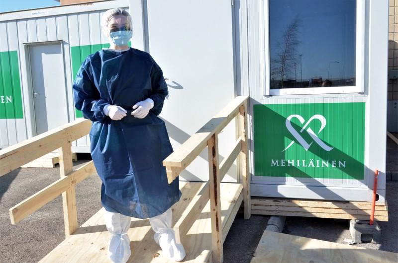 Mehiläinen on perustanut erillisiä hengitystieinfektioklinikoita useille paikkakunnille. Ne toimivat ainoastaan ajanvarauksella Digiklinikan kautta. Ylivieskan konttiklinikka avattiin viime maanantaina.