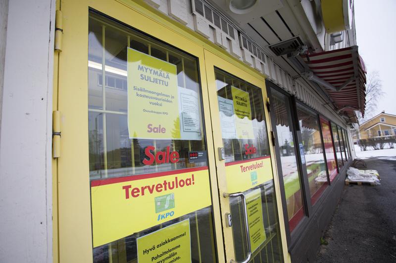 KPO sulki Raution Salen sisäilmaongelmien takia tiistaina. Raution kyläyhdistys vaatii myymälän sulkemista uudelleen käsiteltäväksi.
