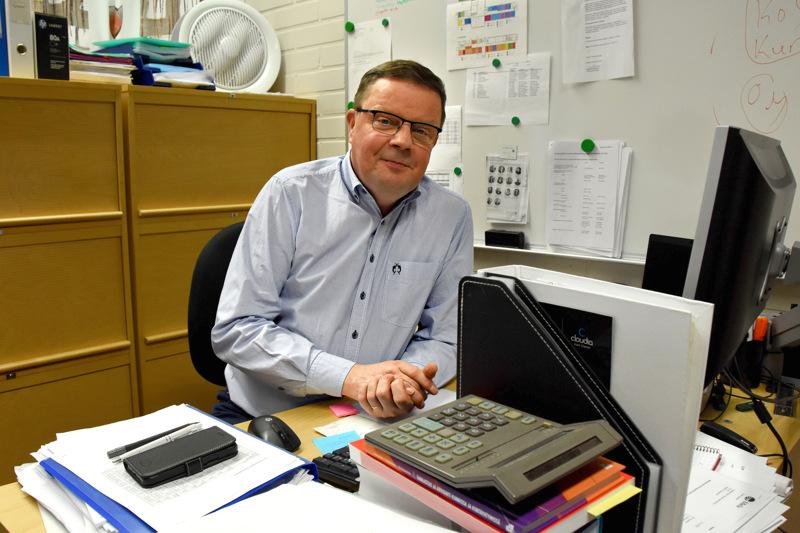 Turkka Rantanen tuli Haapavedelle talousjohtajaksi kesällä 2018, kun Maria Sorvisto siirtyi Ylivieskan kaupunginjohtajaksi.