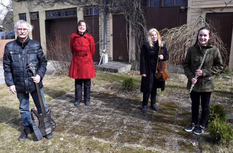 Valosydän-kvartetin muodostavat Markku Lönngren, Pia-Lena Leskinen, Heli Kivistö ja Emmi Haapamäki. Yhtyeen tyylilajiksi voidaan nimetä tunnelmallinen instrumentaalimusiikki, joka on sataprosenttisesti omaa tuotantoa.