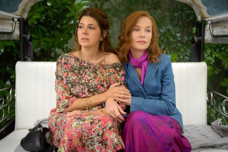 Marisa Tomei ja Isabelle Huppert ystävyksinä Ira Sachsin uutuudessa Frankie.