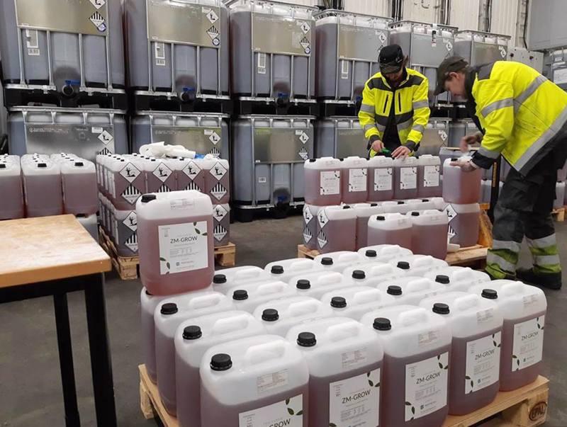 Tracegrown tehdas pystyy täyden kapasiteetin saavutettuaan prosessoimaan kaiken Suomesta kerättävän alkaliparistojätteen.