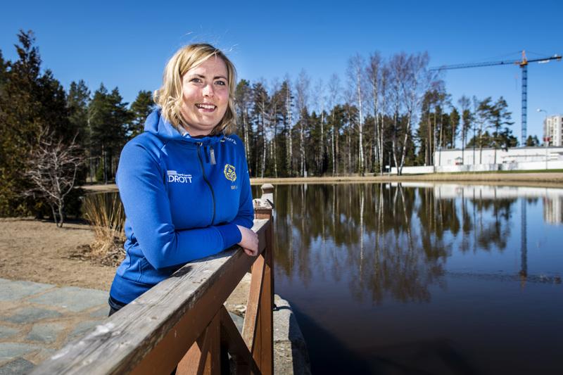 Karppilammen kierto on yksi GIF:n omatoimijakson kohteista, esittelee seuran nuorisopäällikkö Maria Pelander.