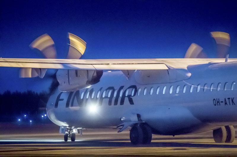 Finnairin kone lähti toistaiseksi viimeistä kertaa Kruunupyystä maaliskuussa, koronakriisin alussa. Nyt lentotauko on venymässä loppuvuoteen asti.