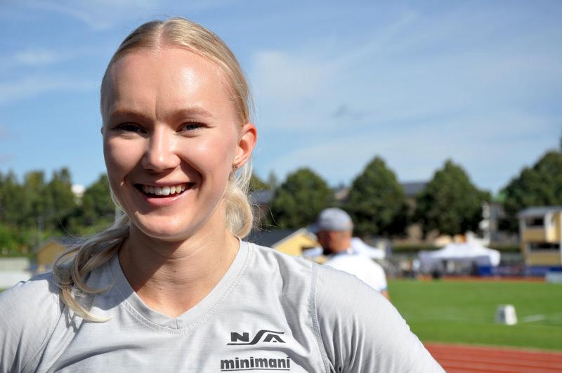 Roosa Määttälä tähtää kuntonsa loppukesän tärkeimpiin kilpailuihin.