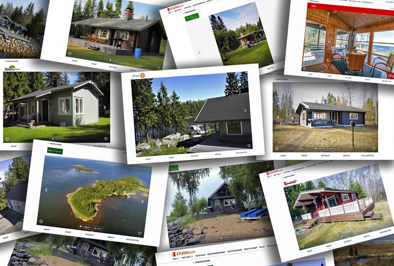 Kiinteistömyyntipalvelu etuovi.comin verkkosivulta löytyy Kokkolan alueelta 28 myynnissä olevaa kesämökkiä.