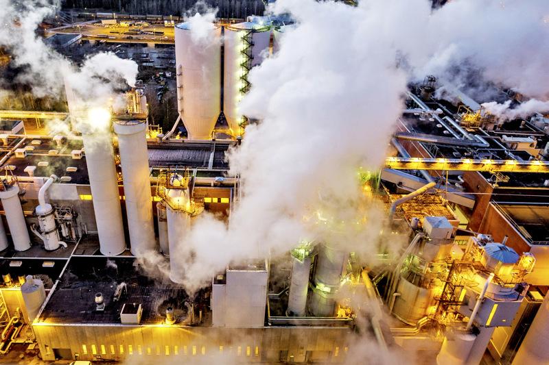 Tuotantostoppi levittää hajuja UPM:n sellutehtaalta Pietarsaareen ja ympäristöön helatorstaiviikolla.