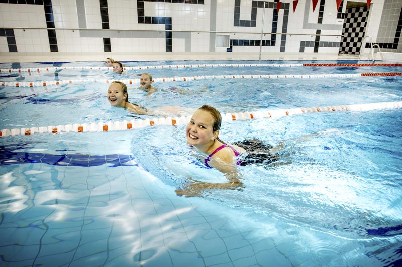 Uimaan taas kesäkuussa. Kuva vuodelta 2013, kun Kitinvapari oli uudistettu.