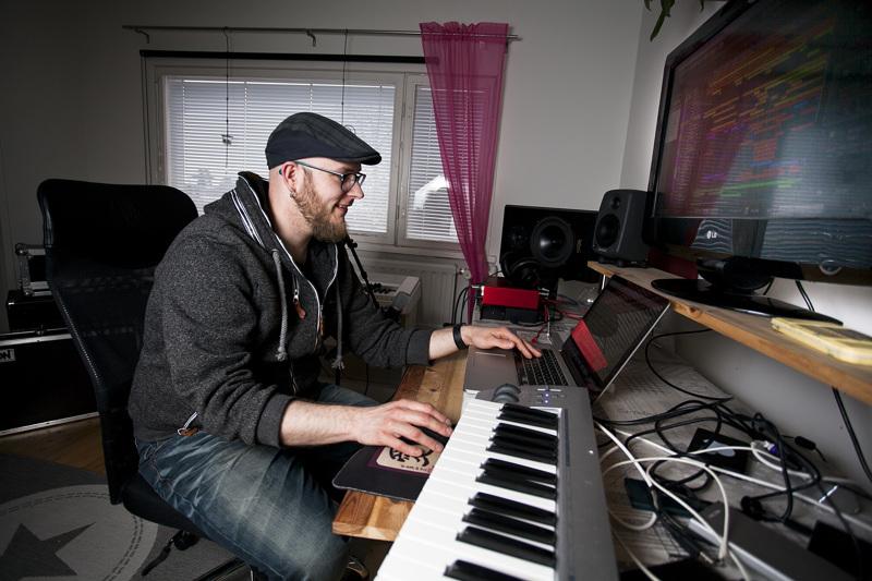 Ville Palin on säveltänyt jälleen elokuvamusiikkia kansainväliseen kilpailuun.