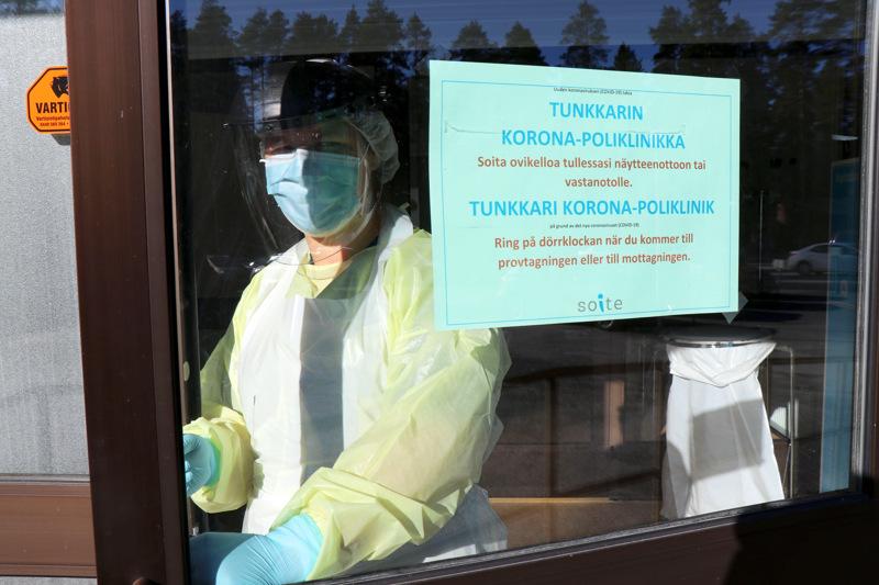 Koronavirustestejä tehdään matalalla kynnyksellä Soiten  infektiovastaanotoilla.