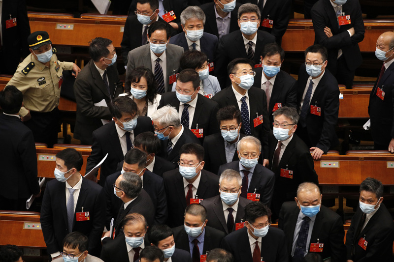 Kiinan kansan neuvoa-antava poliittinen konferenssi CPPCC kokoontui Pekingissä torstaina ennen perjantaina alkavaa kansankongressin kokousta.