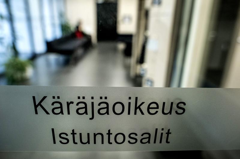 Käräjäoikeus käsitteli juttua Oulun käräjäoikeuden Ylivieskan istuntopaikassa viime vuoden syksyllä.
