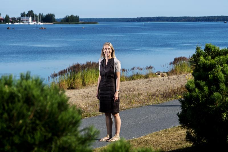 Kokkolan Matkailu Oy on mukana valtakunnallisessa matkailukampanjassa. Kuvassa on Kokkolan Matkailun toimitusjohtaja Teea Pietilä.