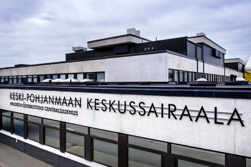 Viimeisimmät tartunnat Soiten alueella ovat maanantailta 11.5. Kuva Keski-Pohjanmaan keskussairaalasta.