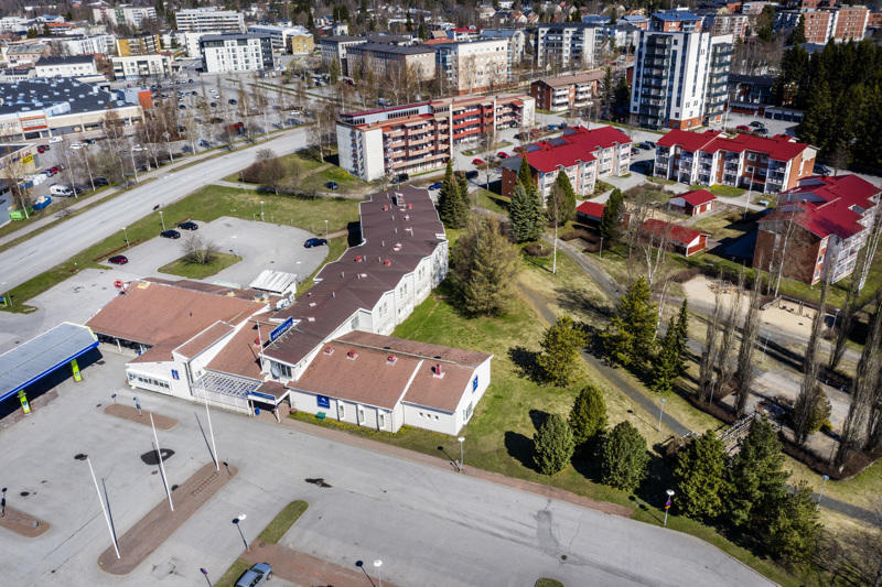 Muutaman vuoden sisällä tälle alueelle noussee useita uusia kerrostaloja sekä uutta parkkitilaa.