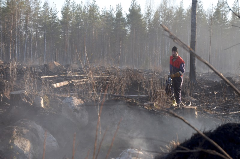 Palopaikka sijaitsee pääasiassa Kokkolan maa-alueella, niin sanotulla Kokkolan-Kälviän yhteismetsässä.