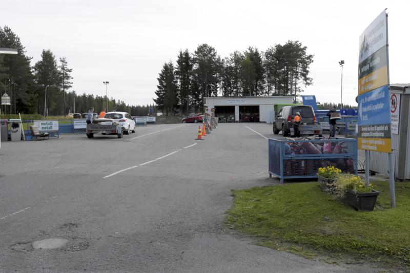 Pirilön hyötykäyttöasema saa uuden asfaltin. Asema on kiinni muutaman päivän viikolla 23.