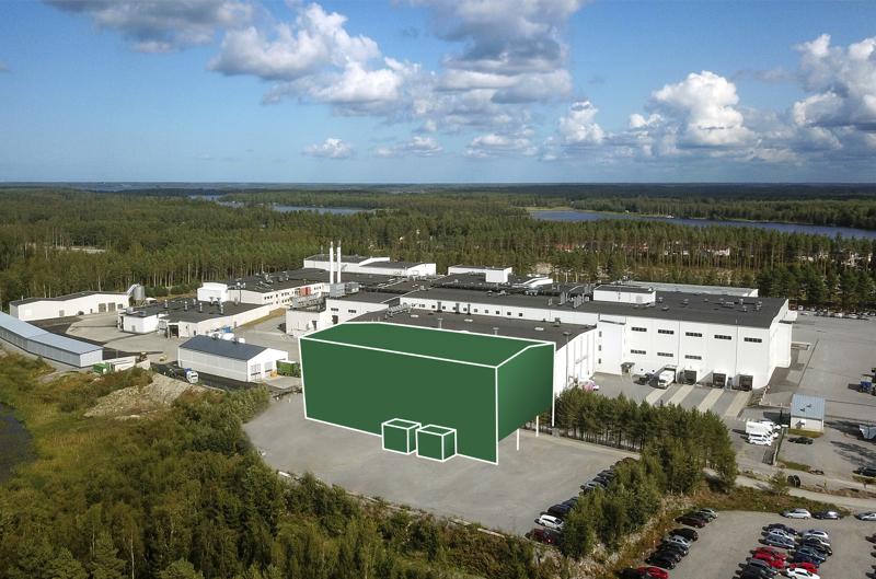 Tulevan pakkasvaraston rakentaminen aiheuttaa Snellmanin tehdasalueella muun muassa liikennejärjestelyjä.
