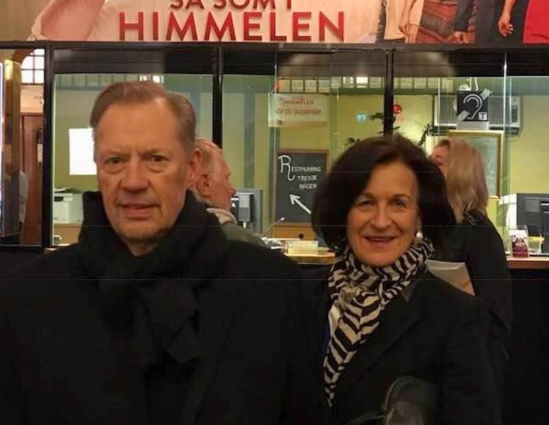 Peter ja Yvonne Ahlstedt muuttivat Pedersörestä Tukholmaan viime vuosikymmenen alkupuolella.