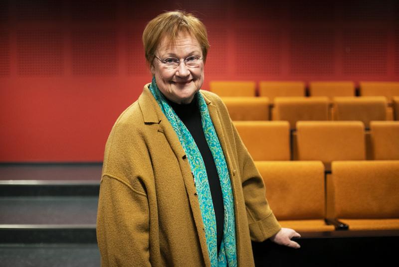 Presidentti Tarja Halonen on yksi 225:stä vetoomuskirjeen kirjoittajista. Arkistokuva.