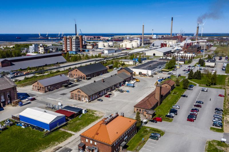 KIP:n alueella toimii yli 60 yritystä.