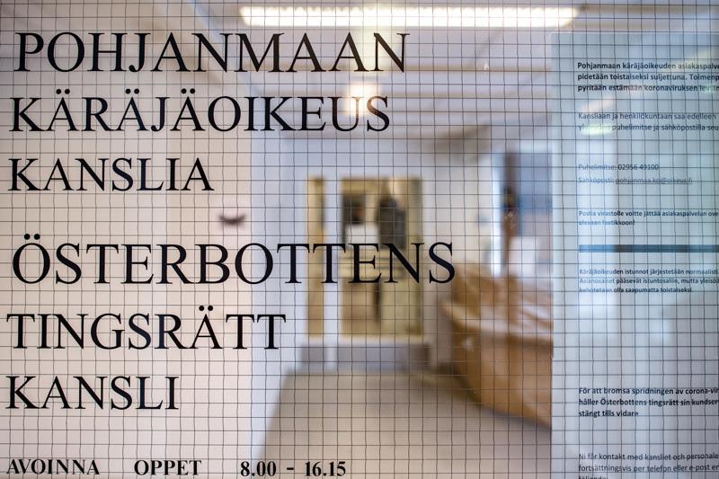 Pietarsaaressa tapahtuneita rikoksia puitiin perjantaina Pohjanmaan käräjäoikeudessa.