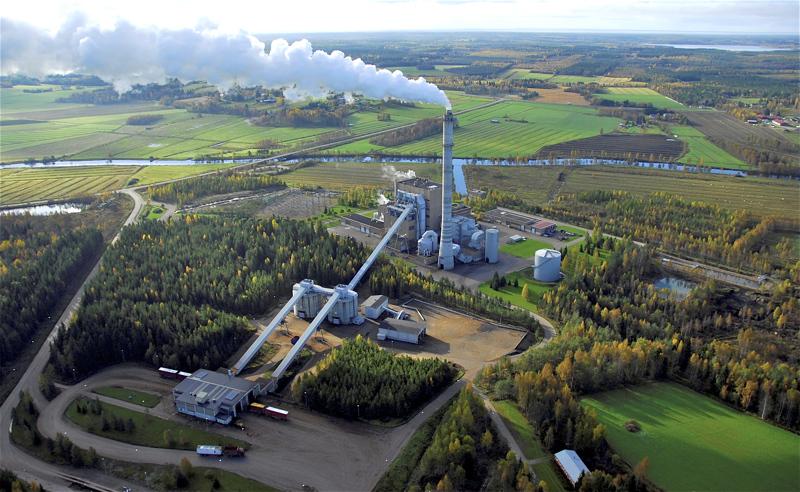 NordFuel-biojalostamossa tullaan hyödyntämään energialähteenä Kanteleen Voiman voimalaitosta.