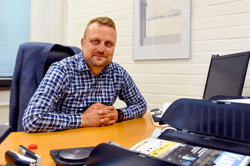 Haapaveden kaupunginjohtaja Antti-Jussi Vahteala on nousemassa seitsemän kunnan yhteisomistuksessa olevan energiayhtiön johtoon.