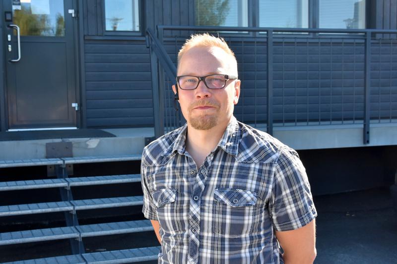 Tutuksi. Joni Jääskeläinen käy esittäytymässä perjantaina Sievissä Korpelan Voiman yhtymäkokouksessa.