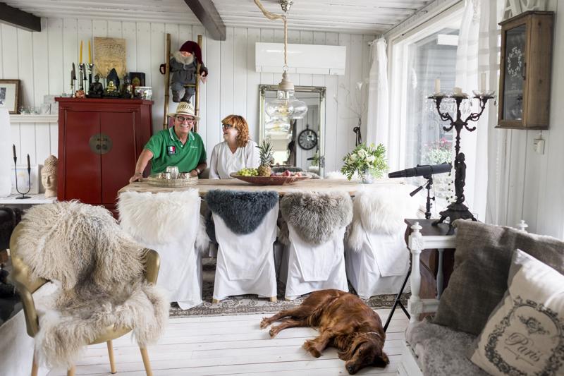 Pekka Kuusansalon ja Arja Björkskogin mökki kamppaili Suomen kaunein koti: Kesämökki -sarjassa voitosta.